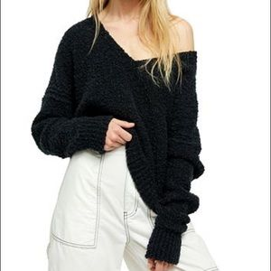 Free People Finders Keepers Vneck Sweater